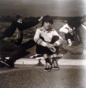 1988 teenager on school trip