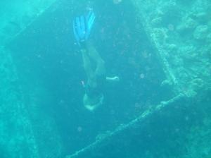 2007 freediving at wreck