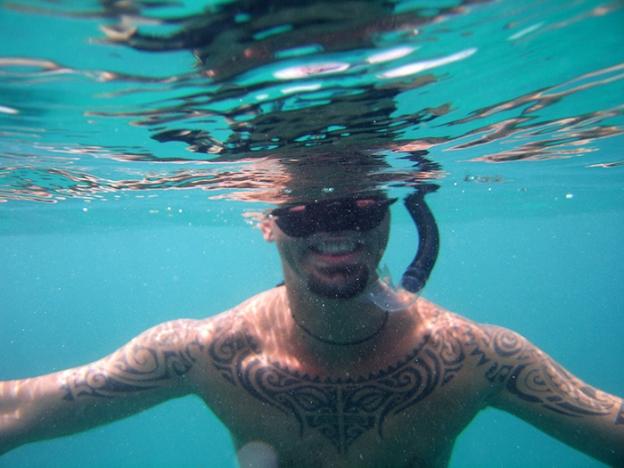 2009 last snorkel with nico
