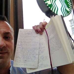 writing at starbucks