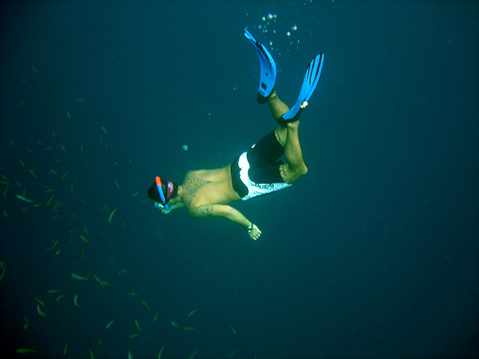 2005 free diving in maldives