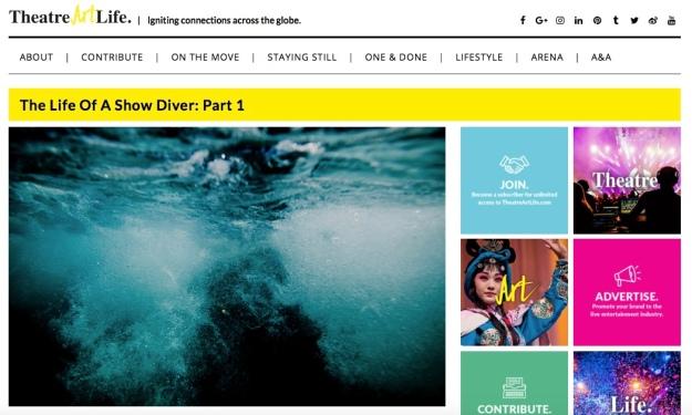 show diver life