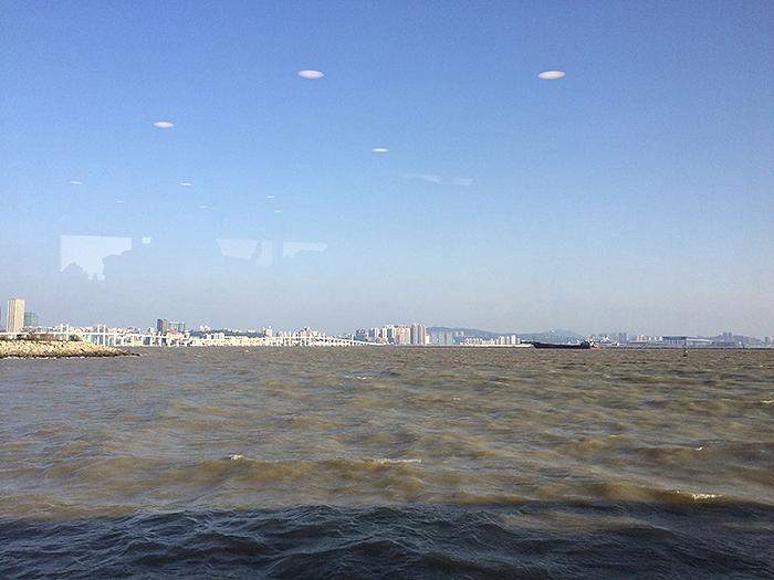 macau seen from ferry