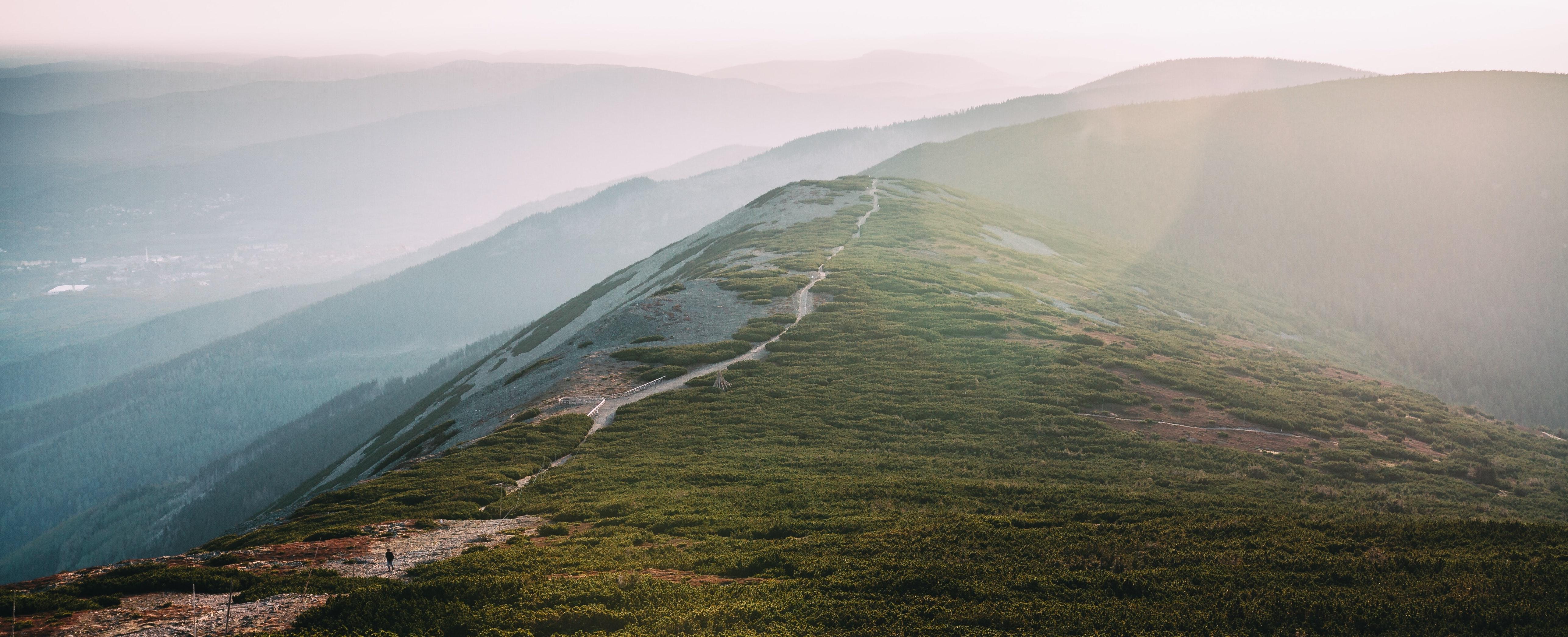 Hiker by Pavel Pesek on Unsplash